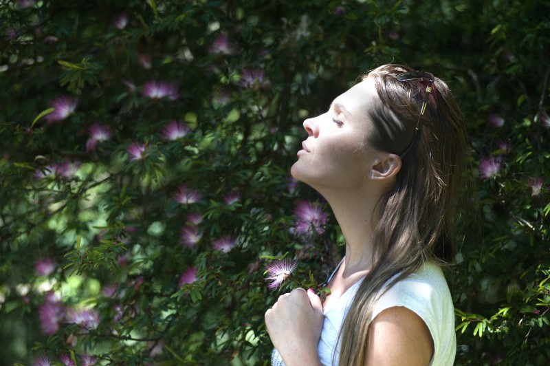 Atemuebungen und Meditation